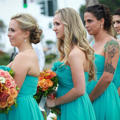 Costa Wedding Bridesmaids