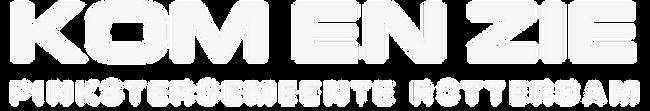 Kom en Zie site logo
