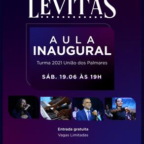 Escola de Levitas: nova turma inicia neste sábado (19/6)