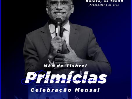 Celebração de Primícias - Mês de Tishrei