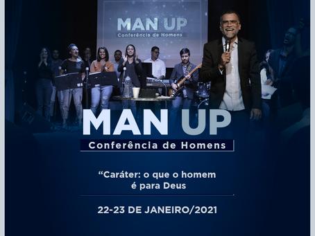 Cultura do Reino Center lança ManUP 2021