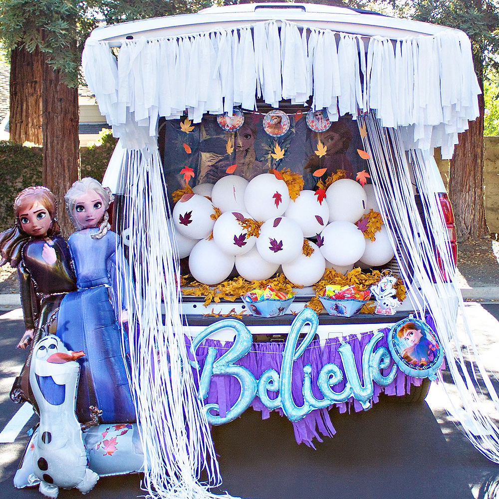 Christian ideas for church trunk or treat Frozen