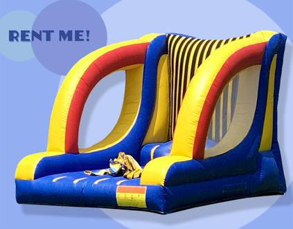 inflatable veclro wall
