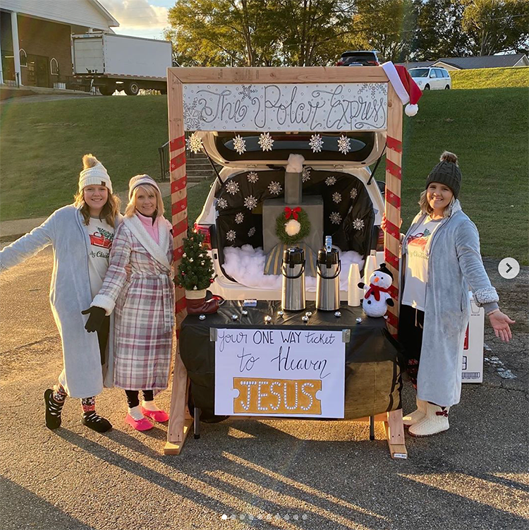 Christian ideas for church trunk or treat