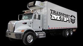 Transport-MP Candiac  Service de transport Frigorifique par camion, cube, remorque.  Service d'entreposage à sec et Réfrigéré.