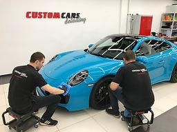 Керамическое покрытие нового автомобиля