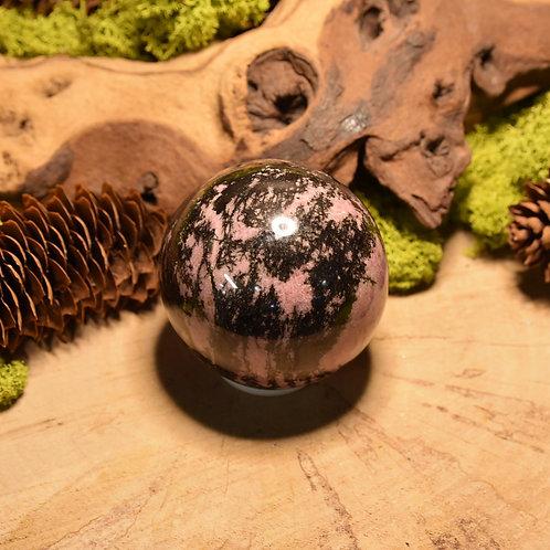 Sphère de Rhodonite