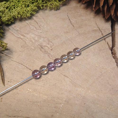 Perle amétrine 4 / 4.5mm