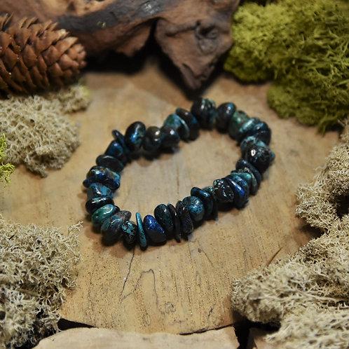 Bracelet baroque - chrysocolle AA