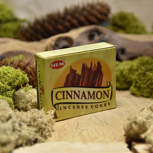Encens Hem en cônes - Cinnamon