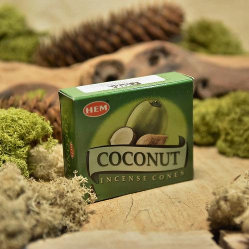 Encens Hem en cônes - Coconut