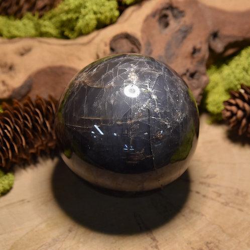"""Sphère d'Adulaire sombre - """"pierre de lune"""" sombre"""