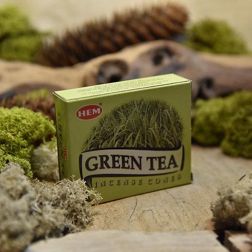 Encens Hem en cônes - Green Tea