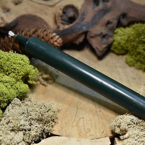 Bougie Teintée Masse - Coloris Vert Sapin