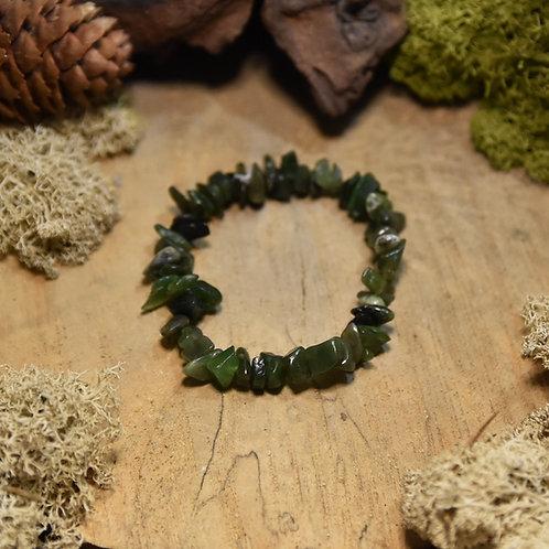 Bracelet baroque - néphrite