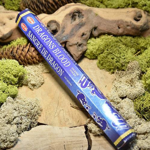 Encens Hexa Hem - Dragon blood (bleu)