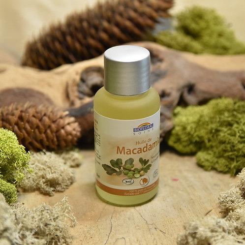 Huile végétale bio 50ml - macadamia