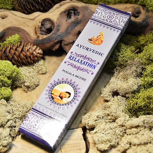 Encens en bâtonnet Surya Ayurvedic - Relaxation