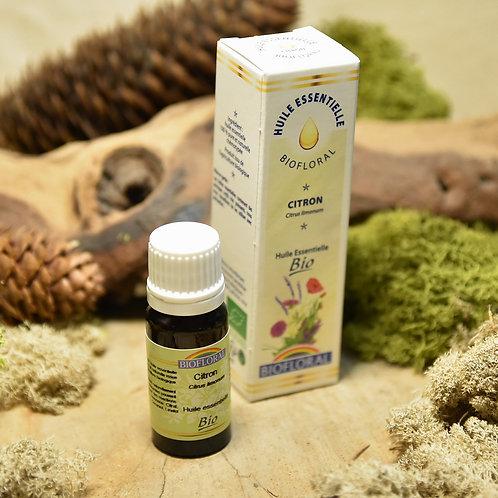 Huile essentielle bio - citron 10ml
