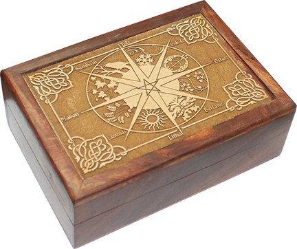 Boîte roue annuelle bois