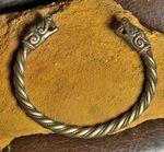 Bracelet viking - loups