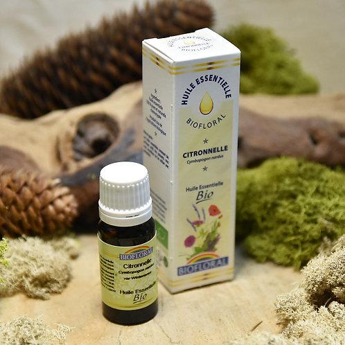 Huile essentielle bio - citronnelle 10ml