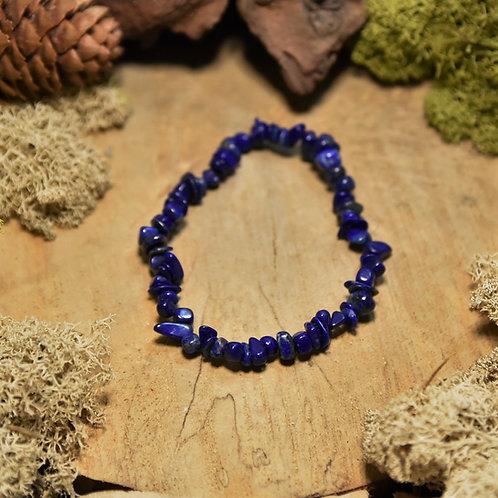 Bracelet baroque - lapis-lazuli