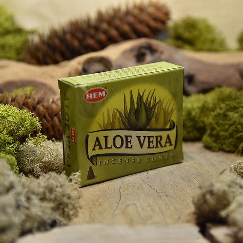 Encens Hem en cônes - Aloe Vera