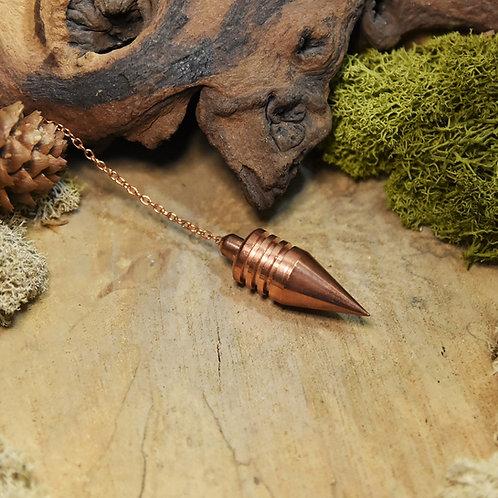 Pendule : Conique cuivre