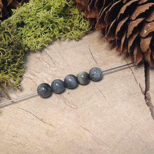 Perle chrysobéryl 6 / 6.5mm