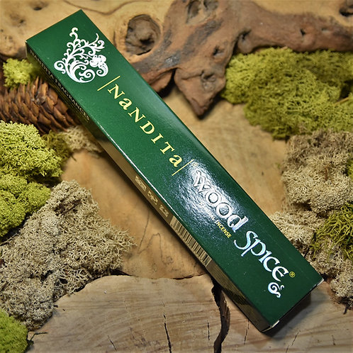 Encens en bâtonnet Nandita 15gr - Wood spice