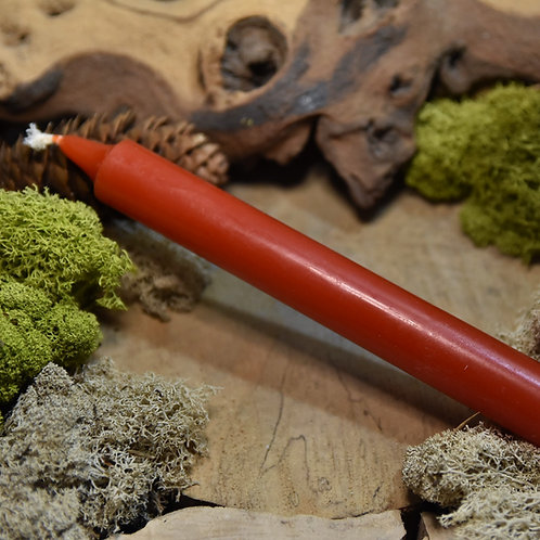 Bougie Teintée Masse - Coloris Rouge Vif