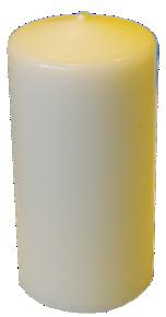 Cierge - H 10 cm