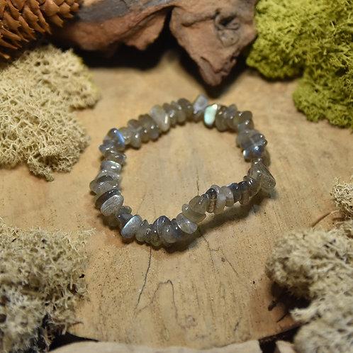 Bracelet baroque - labradorite AA