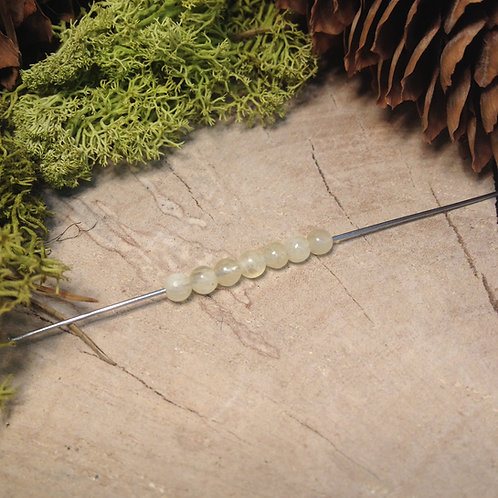 Perle calcite 4 / 4.5mm
