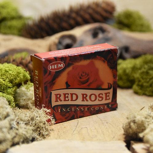 Encens Hem en cônes - Red rose