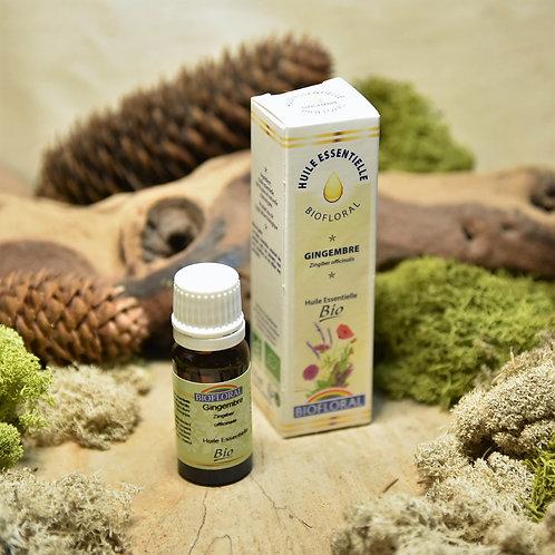 Huile essentielle bio - gingembre 10ml