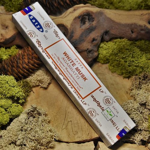 Encens en bâtonnet Satya 15gr - White musk