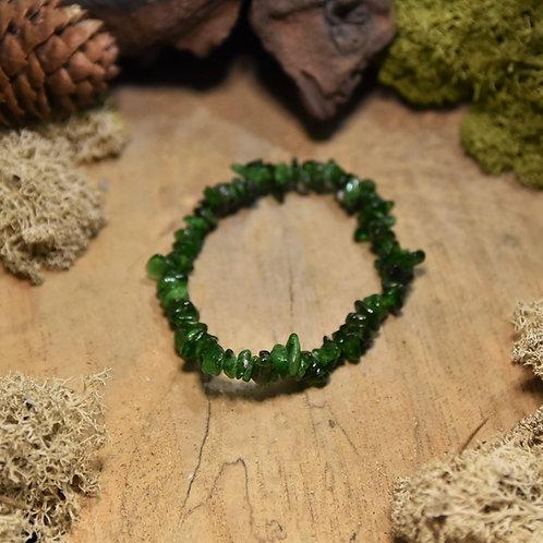 Bracelet baroque - diopside
