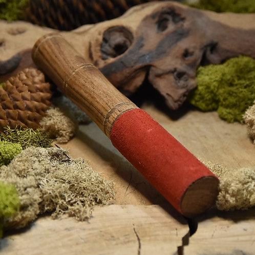 Bâton bol chantant en bois avec feutrine
