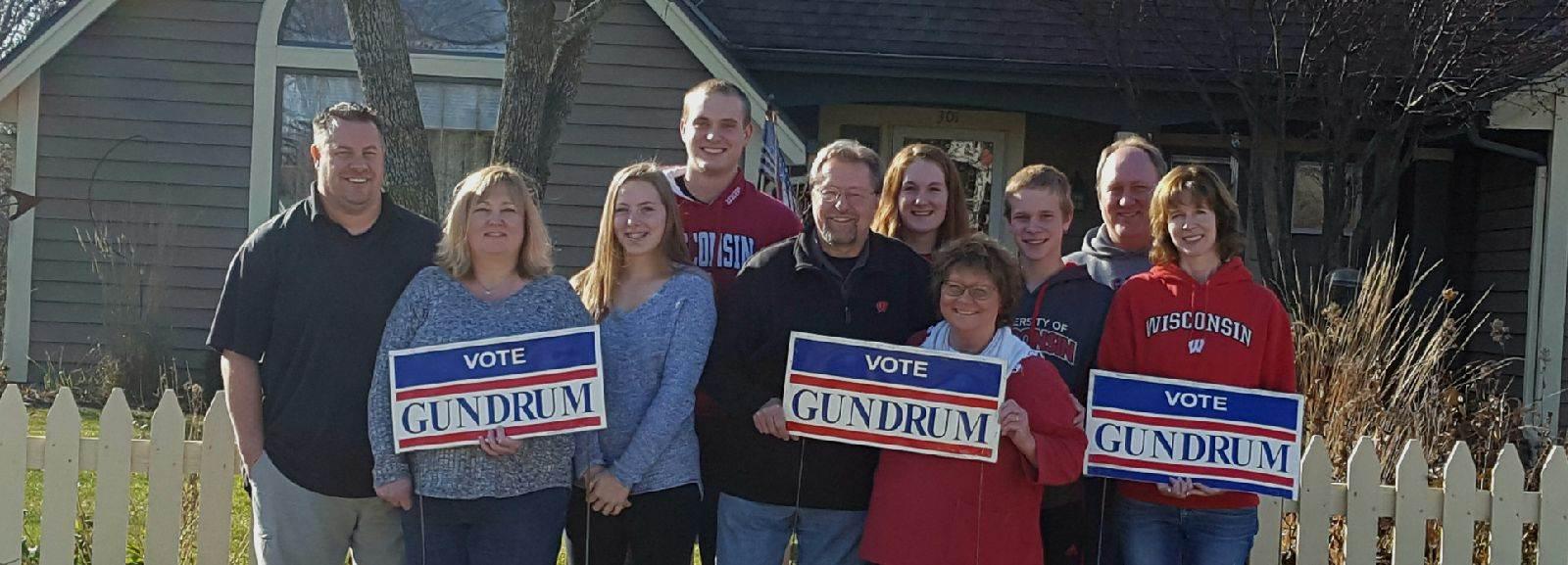 Vote gundrum family Resized (1)