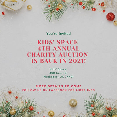 The Annual Kids' Space Christmas Charity