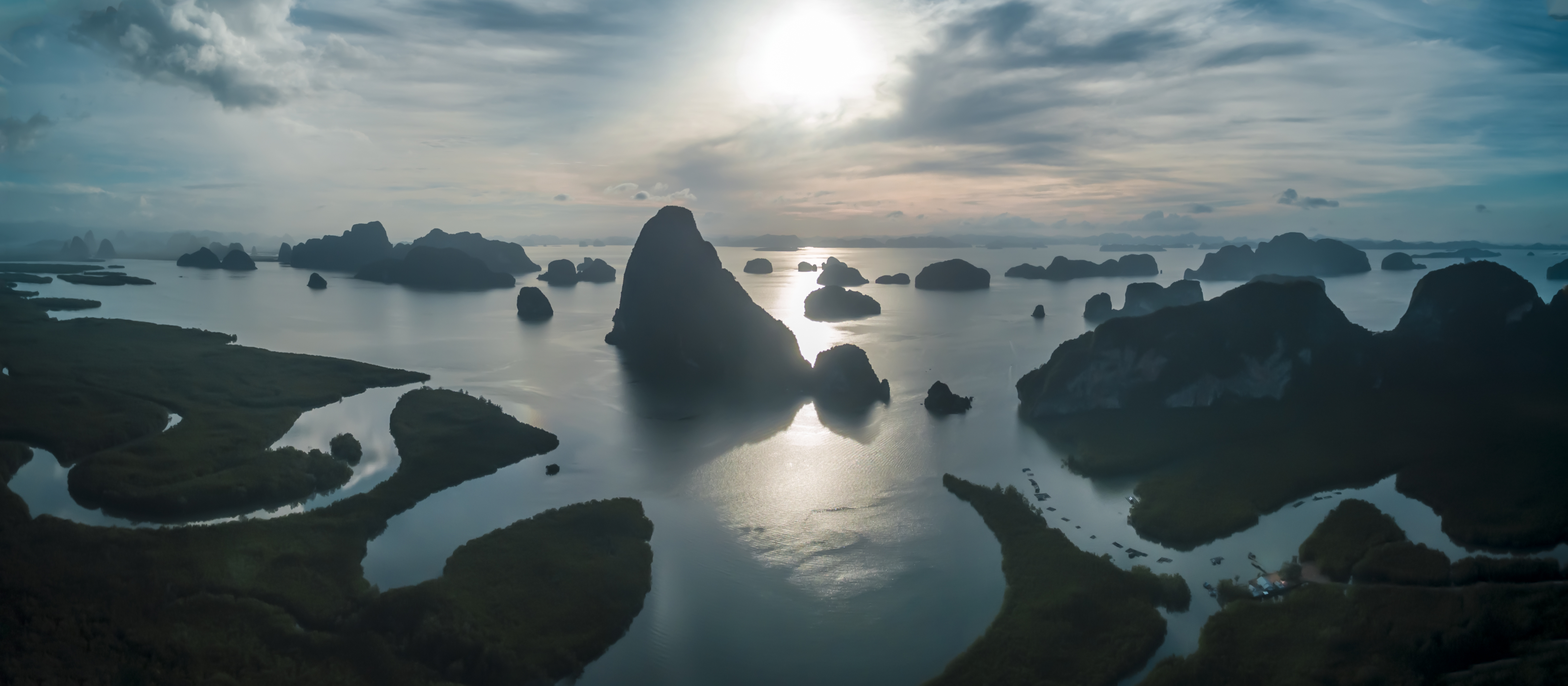 Phang Nga Bay - Morning Sunrise