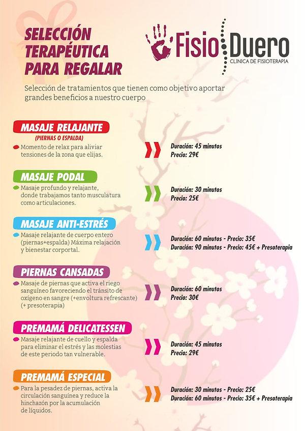 Promociones   Clínica de fisioterapia FisioDuero en Tudela de Duero