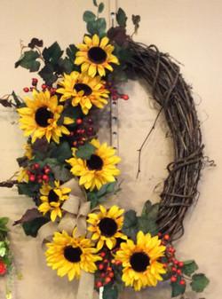 Silk Wreath 15