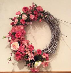Silk Wreath 26