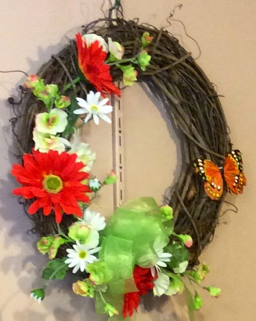 Silk Wreath 2
