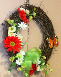 Silk Wreath 2
