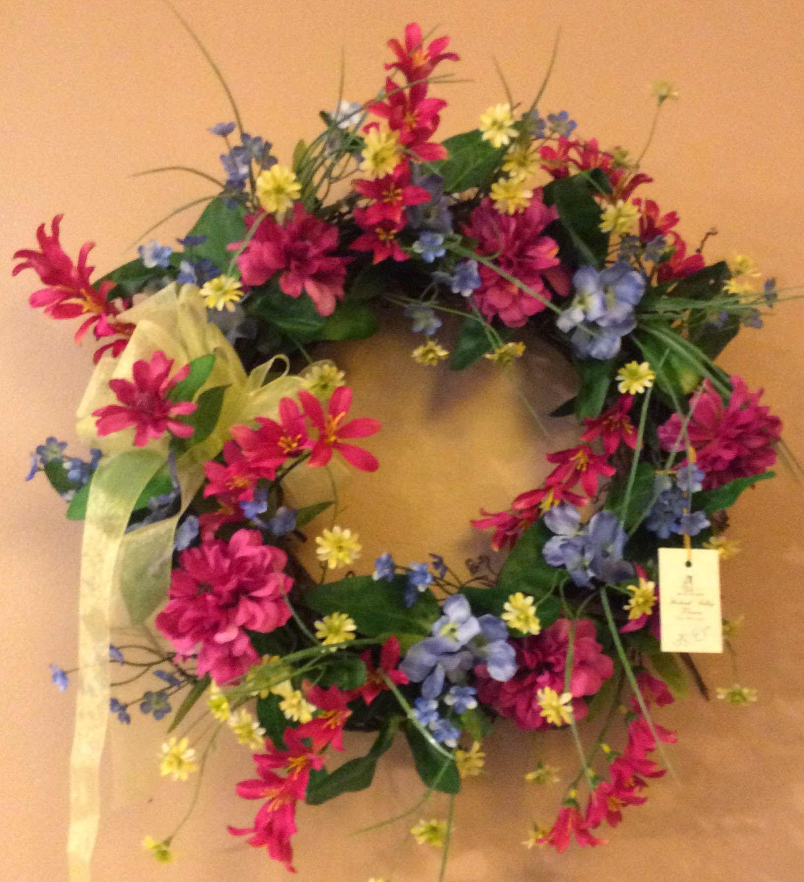 Silk Wreath 16