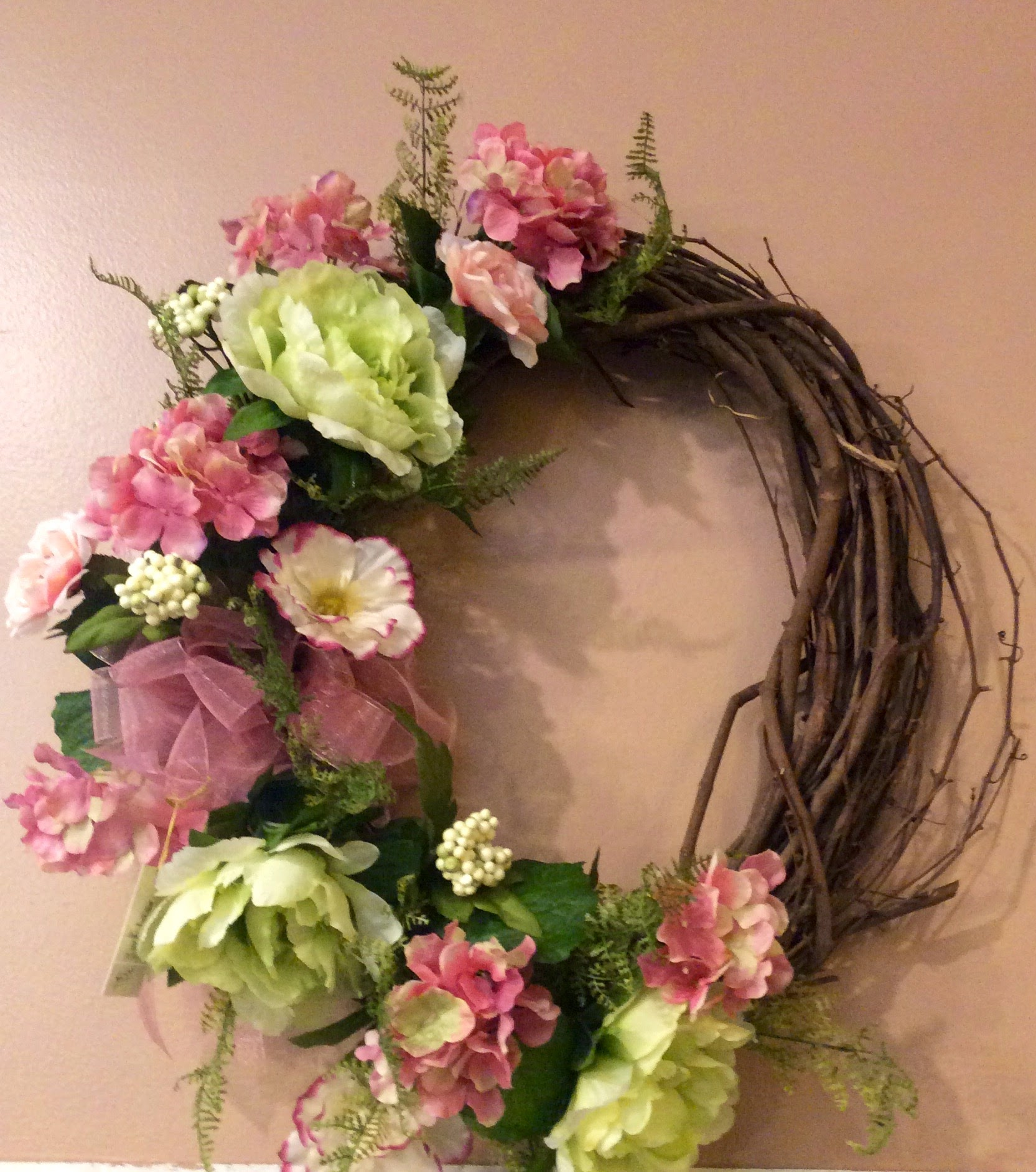 Silk Wreath 22